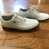 Nike Zoom Air Kempshall Last White Golf Shoes Gor-Tex Men's Spikes Size 8.5