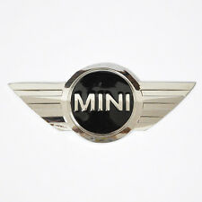 3D Badge Logo Front Bonnet Hood Wing Sticker Rear Trunk Emblem for Mini Cooper