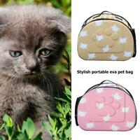 EVA Pet Carrier Bag Portable Outdoor Foldable Travel Cat Puppy Carrying Bag