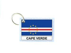 Portachiavi stampado bandiera capo verde CV