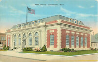 Postcard Post Office, Ludington, MI