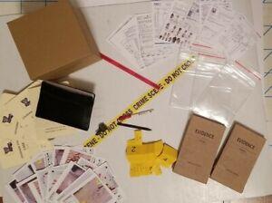 1/6 SCALE Mini Police True DETECTIVE Folders, Evidence, Markers, Pens & Notebook