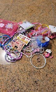 Little Girls Lot Of Jewelry