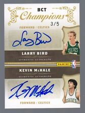 2009-10 National Treasures Celtics Quad Auto Bird McHale Parish Archibald #3/5