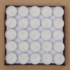 Tea Light Candles 50 Pack Unscented Tealight Candles Romantic Love Candles A7D6