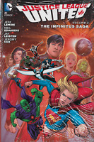 Justice League United Vol 2: Infinitus Saga by Jeff Lemire HC DC New 52 2015 OOP