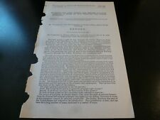 Government Report 1884 Grant To Fort Worth & Denver Railway Co Indian Territory