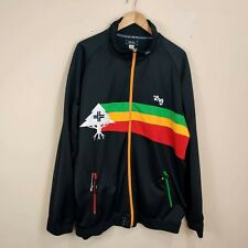 Rare LRG Lifted Research Group Embroidered Track Jacket XXXL 4XL