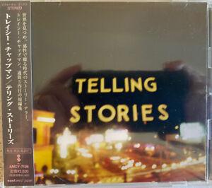 Tracy Chapman - Telling Stories (CD) JAPAN W/OBI AMCY-7126