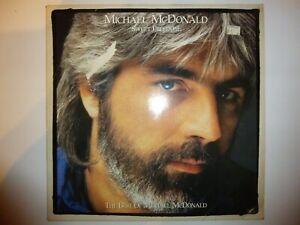 """Michael McDonald – 'Sweet Freedom' 12"""" vinyl album LP 1986 UK. EX/EX"""