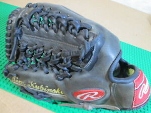 Rawlings PRO1000-4B LHT Pro Issue Heart of Hide HOH Oakland A's Pitcher Kubinski