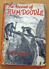 THE ASCENT OF RUM DOODLE. W.E. BOWMAN. first edition in dustjacket.