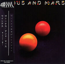 PAUL MCCARTNEY & WINGS VENUS AND MARS CD MINI LP OBI