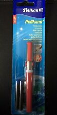 Pelikano R481 Left-Handed Roller Ball Pen -with 2 KM Ink Cartridges Blue