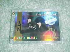 Ty Beanie Babies Zip the Black Cat Autographed Signed Card