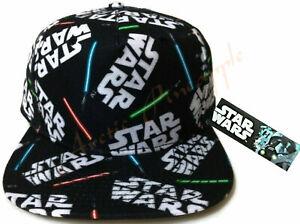 Bioworld Official Strapback Star Wars Jedi Lightsaber Baseball Hat Skywalker NWT