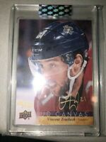 2019-20 UD BUYBACKS VINCENT TROCHECK UD CANVAS GOLD AUTO 16/25 PANTHERS  PD