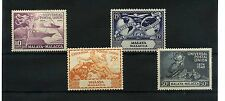 4 Block Width Malayan & Straits Settlements Stamps