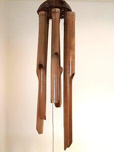 Ascension Windspiel mit 6 sechseckigen R/öhren 89 cm lang Klangspiel
