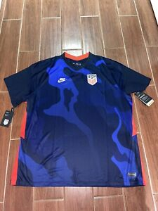 Nike Mens USA USMNT 2020/21 Away Soccer Jersey Size 3XL