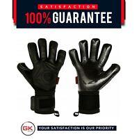 Football Goalkeeper Gloves GK Saver 3D Blackout Contact Palm 4mm Top Pro Gloves