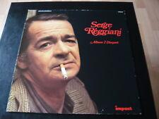 SERGE REGGIANI... album 2 disques... pop chanson cinéma italien Star LP album 33 tr/min