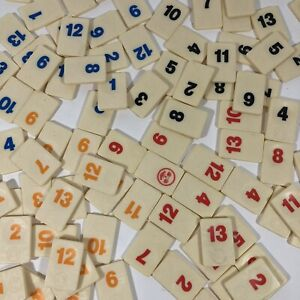 Spears RUMMIKUB Spare Replacement Number Tile Logo on Front Buy 2+ No Extra Post