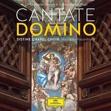 Coro della Cappella Sistina-Cantate Domino-CD NUOVO // 0