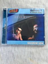 Anthony B, Junior Timba - The Nazarene Vow Cd , In Mint Cond. + Fast Shipping.