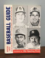 Vintage BASEBALL GUIDE The Sporting News 1977 MLB Stats Guide