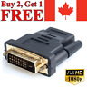 DVI-D to HDMI Adapter 24+1 Male to Female Dual Link Converter Connector