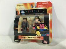Minimates Superman Wonder Woman DC Red Son