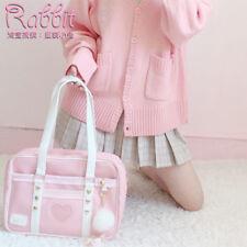 Japanese Sweet Lolita JK Uniform Preppy style School Bag packsack Girl PU Bag