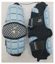 Brine LoPro Superlight Carolina Blue Lacrosse Arm Guards, Medium