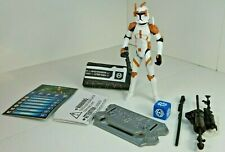 STAR WARS The Clone Wars Commander Cody 100% Animated figure Loose New!