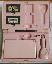 Nintendo DS Lite Pink Console w/ games and case