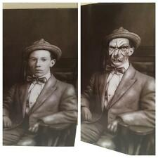 """Victorian Style 'John Junior' 6.5"""" x 8.5"""" Hologram Picture-Boo!"""