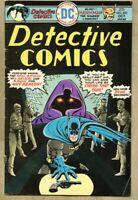 Detective Comics #452-1975 fn- 5.5 Batman / Hawkman