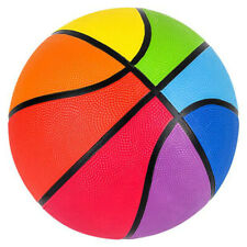 """9.5"""" Multi-Color Regulation Basketball Official Size Ball Kids Sports Toys"""
