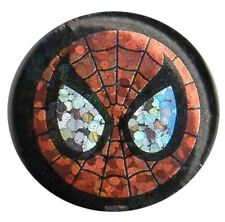 Official Marvel The Amazing Spiderman Mask Prism1 inch button pin badge
