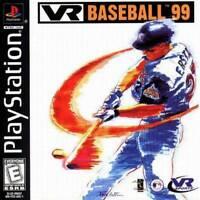 Vr Baseball '99 - PS1 PS2 Playstation Game