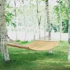 [casa.pro]®hamac XXL pour plusieurs personnes 200kg « crème » Camping Outdoor