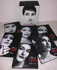BOX 6 CD MARIA CALLAS - 6 BOOK - 64 PAGINE - ESPRESSO