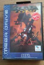 Red Zone, Sega Mega Drive (Genesis), completo-raras