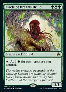 Circle of Dreams Druid x1 Magic the Gathering 1x Adventures in the Forgotten Rea