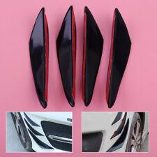 4xLarge Front Bumper Lip Diffuser Splitter fins body spoiler canard valence chin