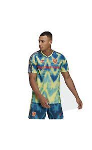 Adidas Arsenal Human Race Soccer Jersey Size L Bruised Banana Pharrell Football