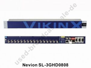 Nevion SL-3GHD0808 (HD 3G Videokreuzschiene 8x8)