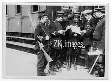 PHOTOGRAPHE GUERRE Reporter Train WWI Soldat Belge 1914