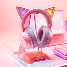 Razer Kraken Kitty Gaming Headset TNX 7.1 Surround Sound Headset with H9I6